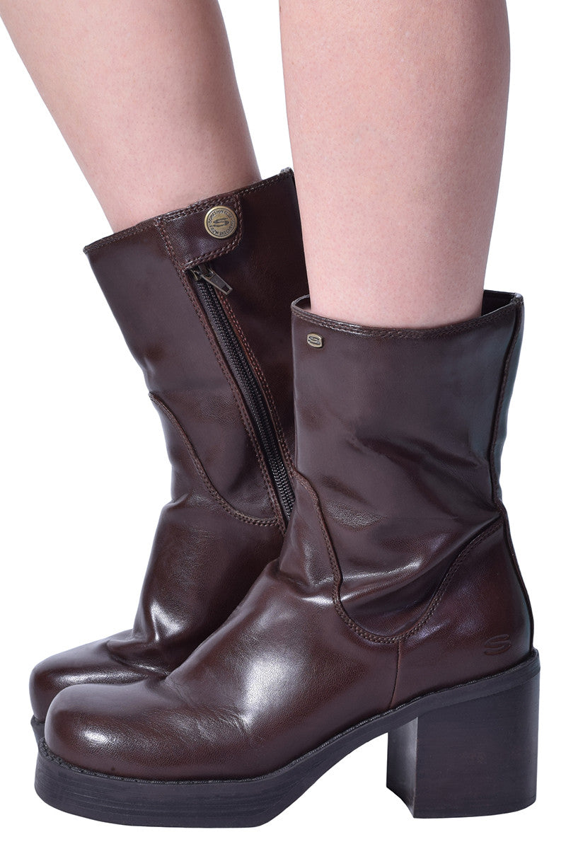 ECH Vintage Gina Heeled Boot