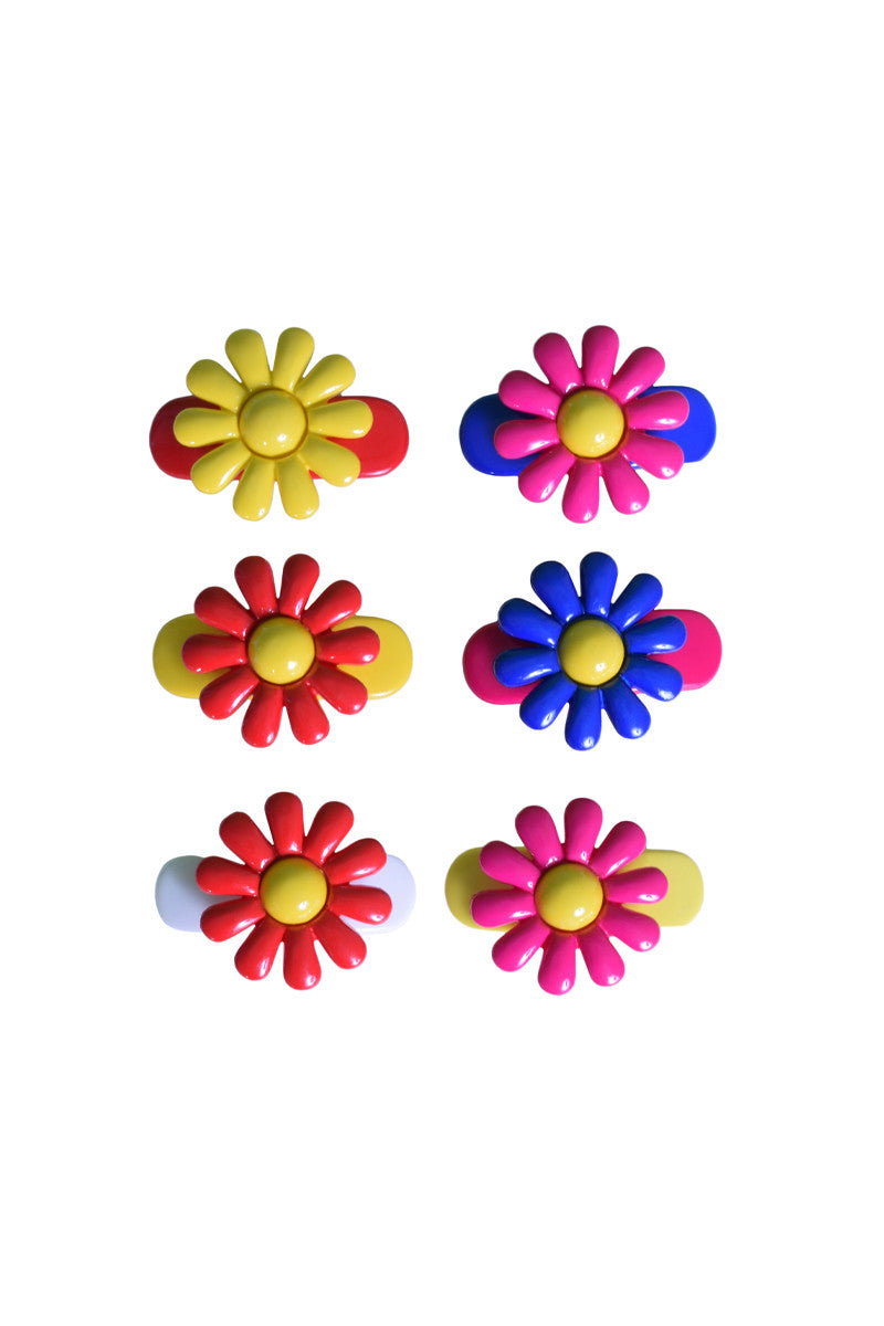 Deadstock Summer Fun Hair Clip Set