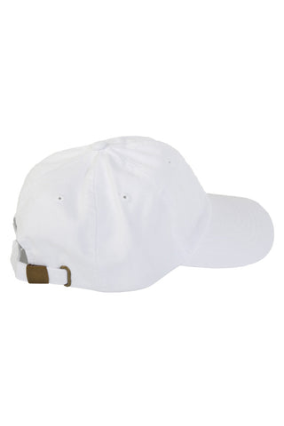 BB Girl White Ball Cap