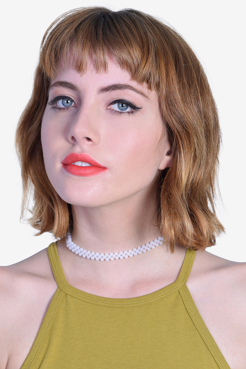 Double Pearly Choker