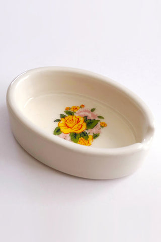Yellow Rose Ashtray by Ritual & Rose