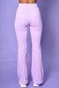 Missing You Like Candy Flare Pants - Lilac