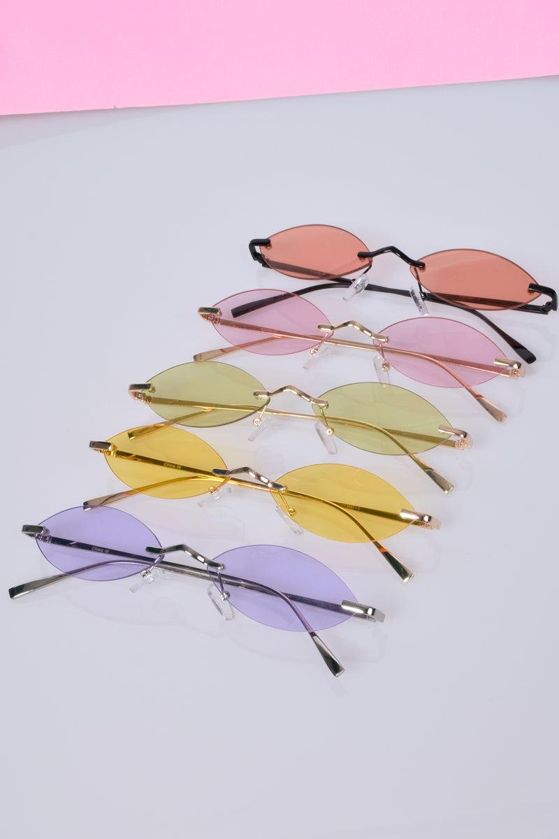 Angelic Oval Eye Sunnies