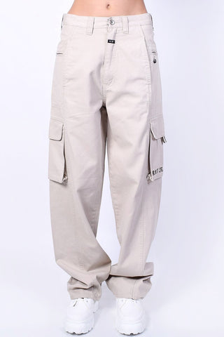 Deadstock Cora Khaki Wide Leg Pants