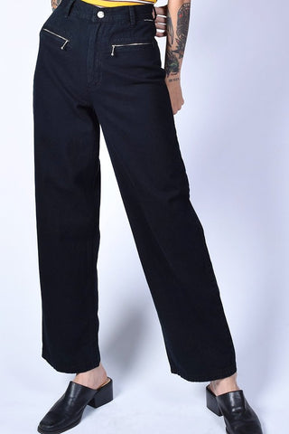 Deadstock Kimberley Zip Top Wide Leg Pants