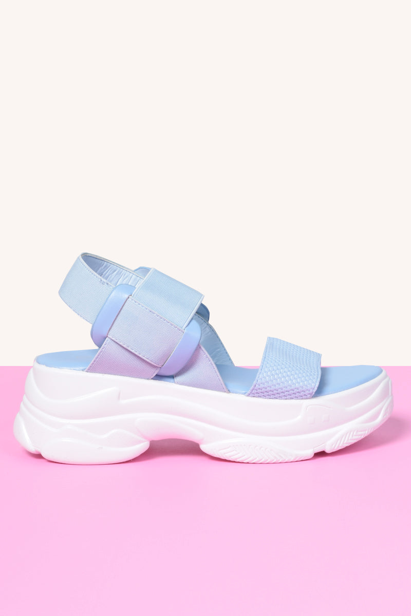 Elastica Platform Sports Sandal - BB Blue