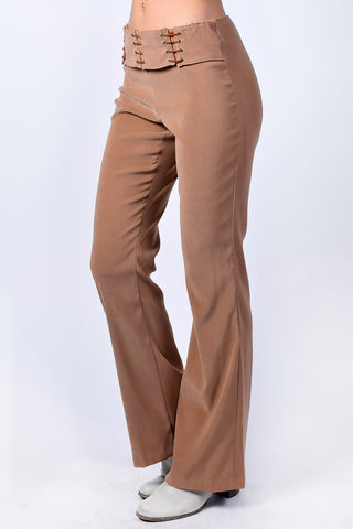 Deadstock Mariah Belted Flares