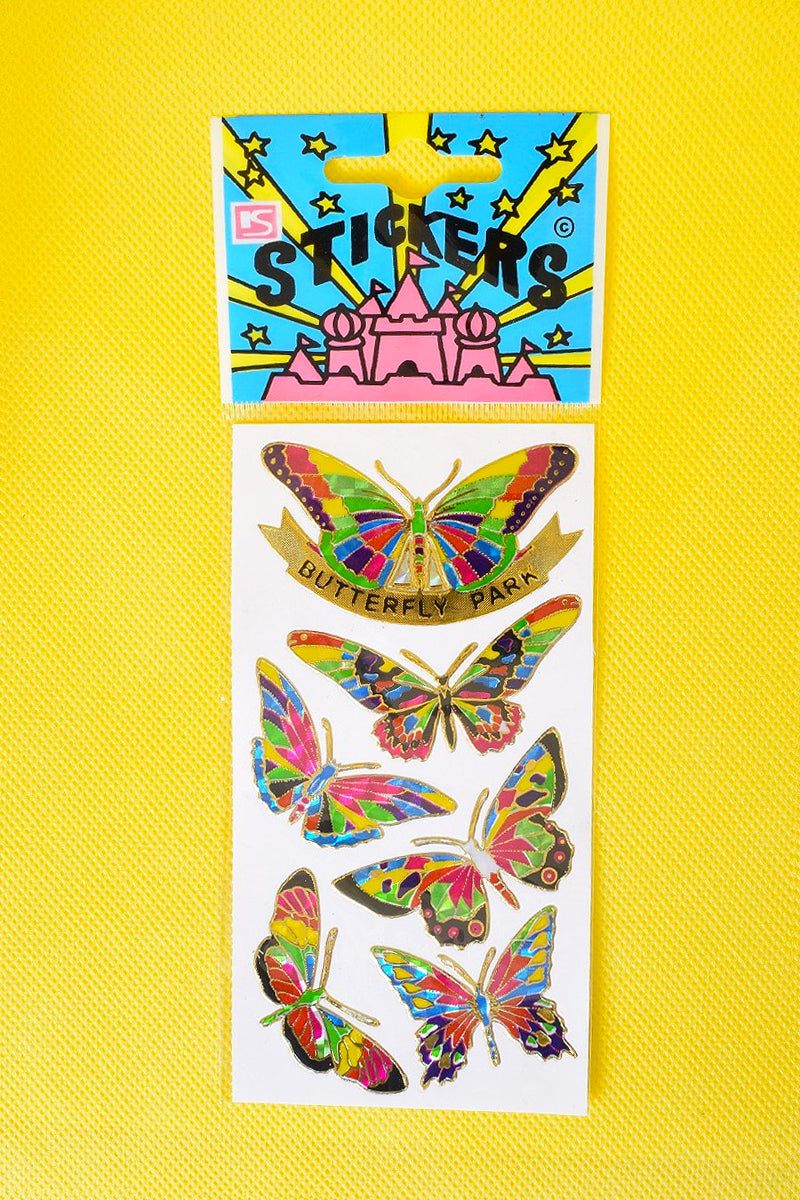 90s Deadstock Butterfly Stickers