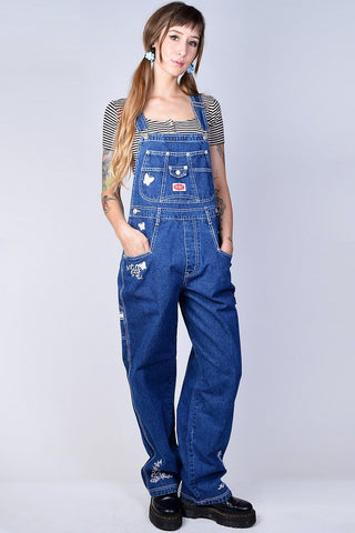 Super Over It Deadstock Baggy Butterfly Overalls