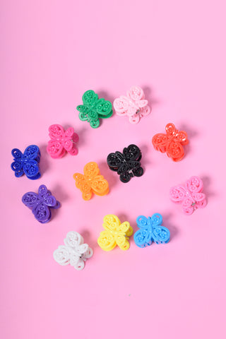 Butterfly Babe 90s Deadstock Hair Clips