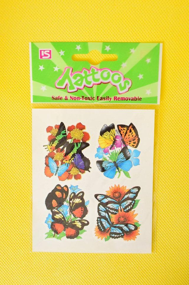 90s Deadstock Butterfly Temp Tattoos