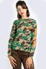Long Sleeve Camo Classic Logo Tee by Dickies Girl