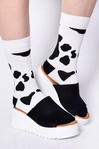 Holy Cow Crew Socks