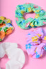 ECH Deadstock Sunshine Floral Scrunchie Set