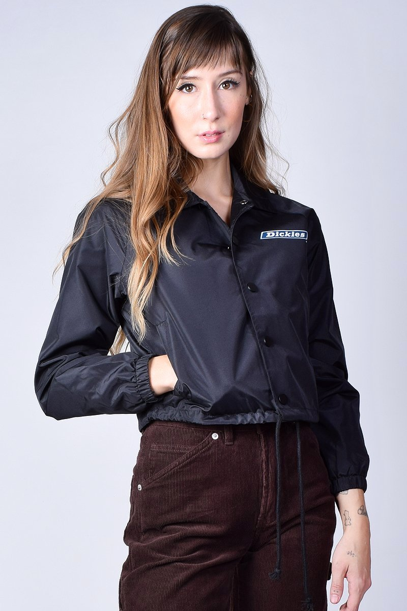 Cropped Windbreaker Jacket by Dickies Girl