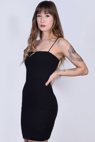 Valery Straight Cut Tube Dress
