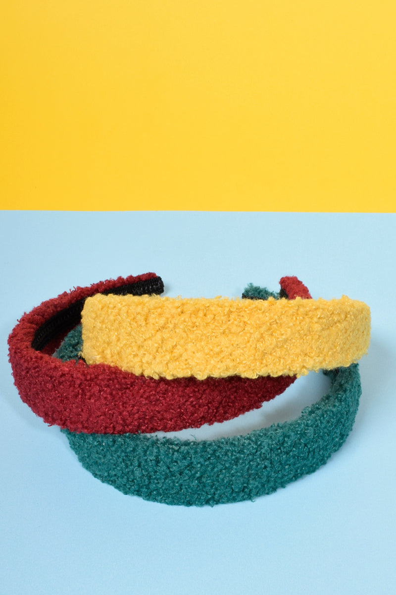 Homeroom Fuzzy Headband Set