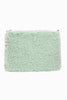 Fuzzy Feeling Clutch Bag - Mint
