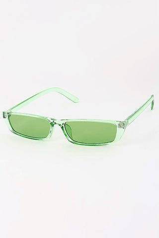Carra Clear Rim Rectangle Sunnies