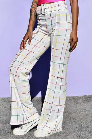 Valencia Belted Wide Leg Pants