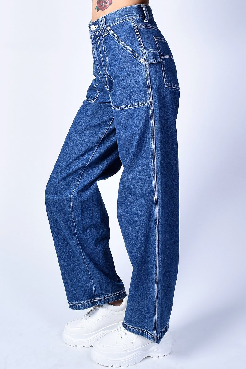 1e887b80 Deadstock Haley Denim Wide Leg Pants