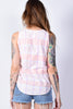 ECH Vintage Pastel Plaid Tank Top
