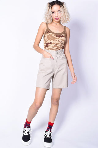 Deadstock Camp Counselor Khaki Shorts