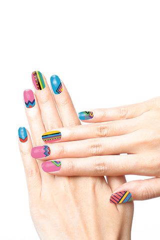 Tattify Nail Tats - Geo Fun