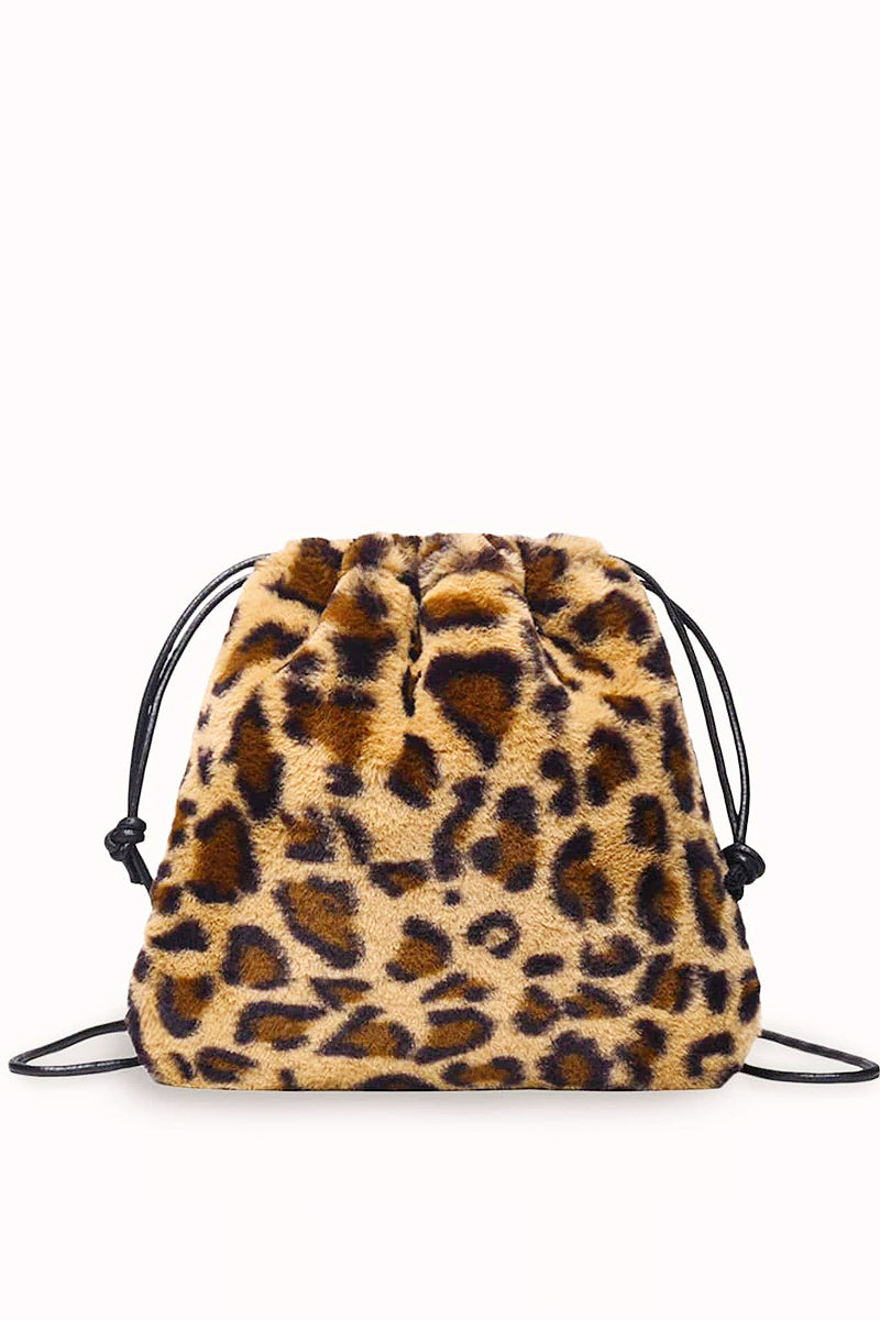 Fuzzy Feeling Leopard Mini Bag