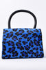 Kendra Structured Leopard Mini Bag