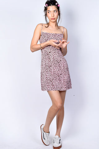 Rikki Leopard Print Dress