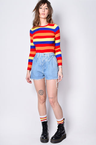 Feeling Good Bold Stripe Top