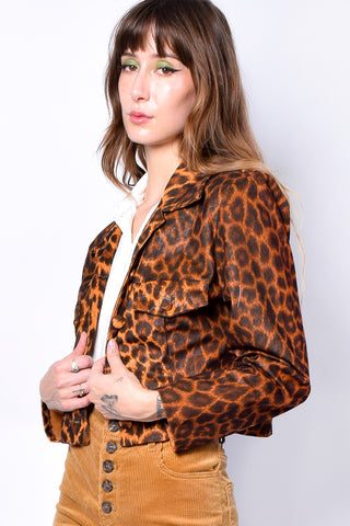 Deadstock Megan Leopard Jacket