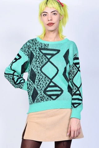ECH Vintage Mint Mirage Sweater