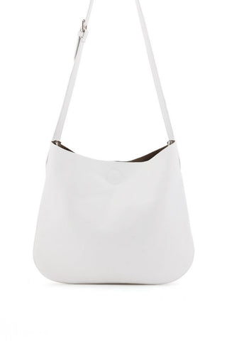 Perf Side Bucket Bag - White