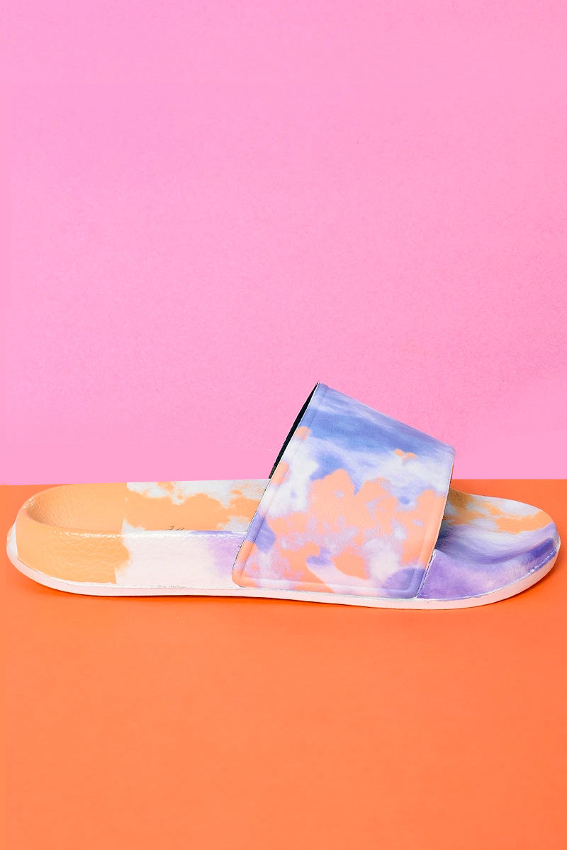 Total Monet Slide On Sandals