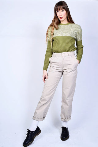 ECH Vintage Moss Green Sweater