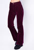 Peoria Corduroy Flare Pants - Mulberry