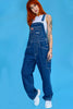 Super Duper Over it Baggy Deadstock Overalls - Denim