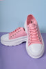 Down Low Platform Sneakers - Bubblegum
