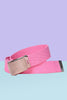 Tragic Kingdom Deadstock BB Pink Canvas Belt