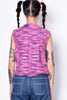 ECH Vintage Pink/Purple Sweater Vest