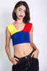 Primary Knit Crop Top