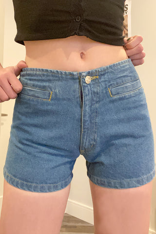 Private Property Deadstock Denim Shorts