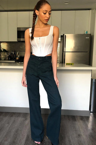 ECH Reclaimed Vintage Barbara Denim Flares