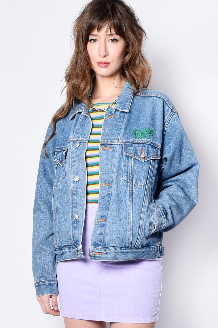 ECH Vintage Rainforest Cafe Denim Jacket