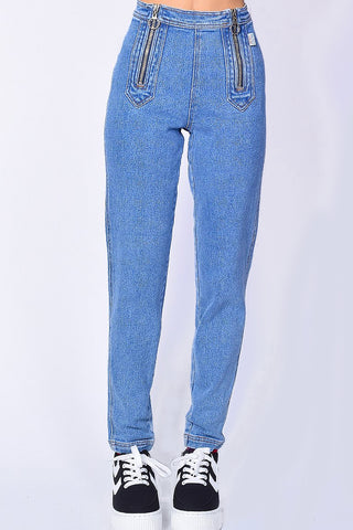 Deadstock Corey Zip Front Denim