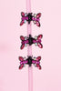 Rhinestone Tiny Deadstock Hair Clips