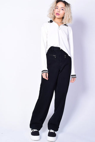 46bf2be0f7a ... Deadstock Kimberley Zip Top Wide Leg Pants