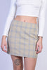 Checkered Babe Mini Skirt